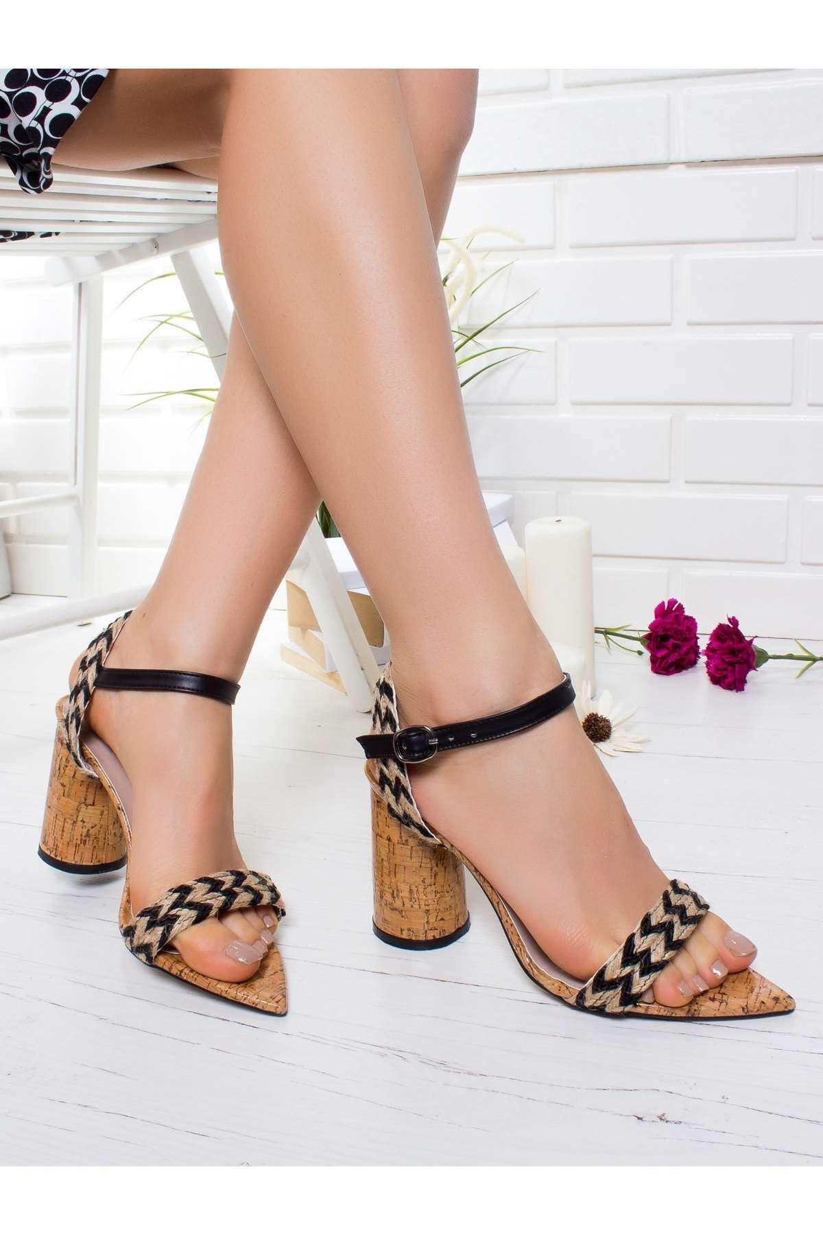 Greta Topuklu Ayakkabı SIYAH