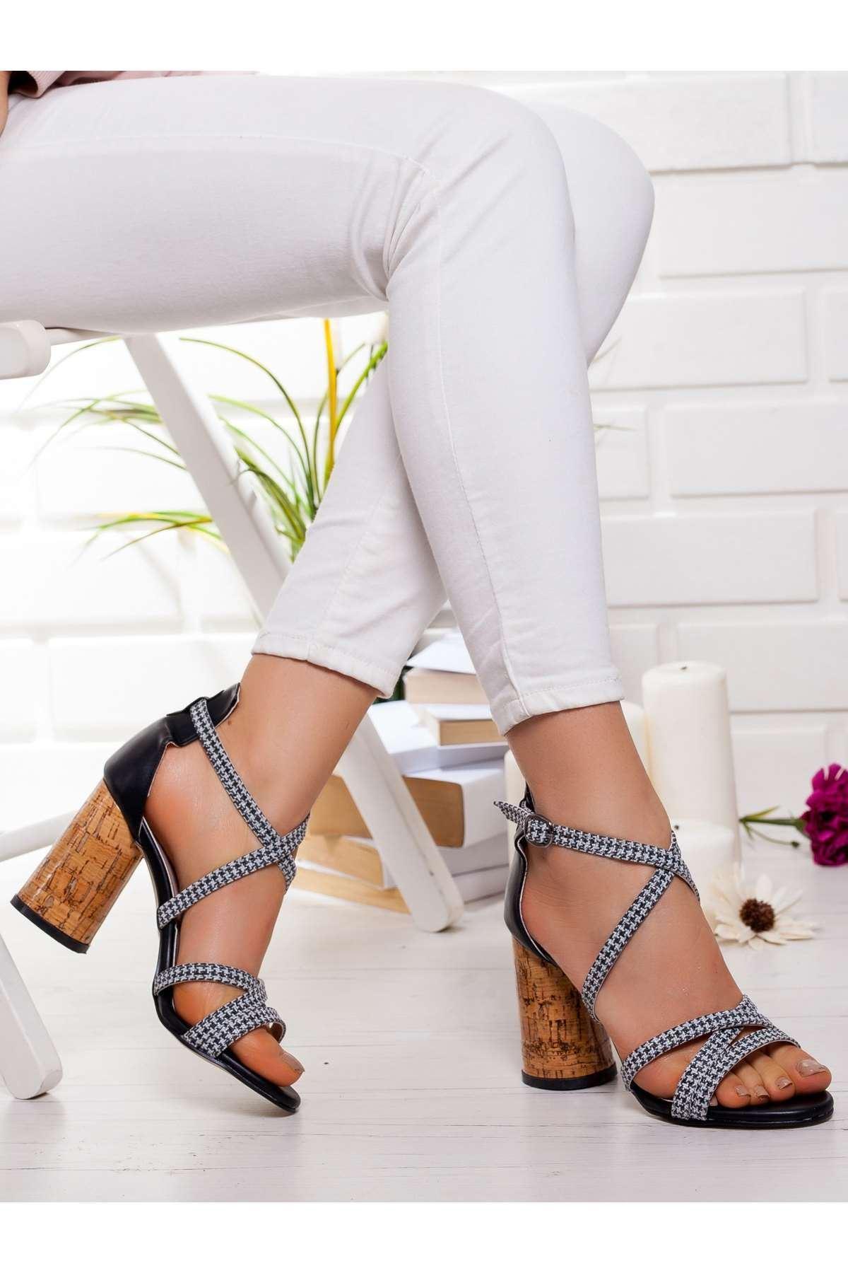 Hana Topuklu Ayakkabı SIYAH