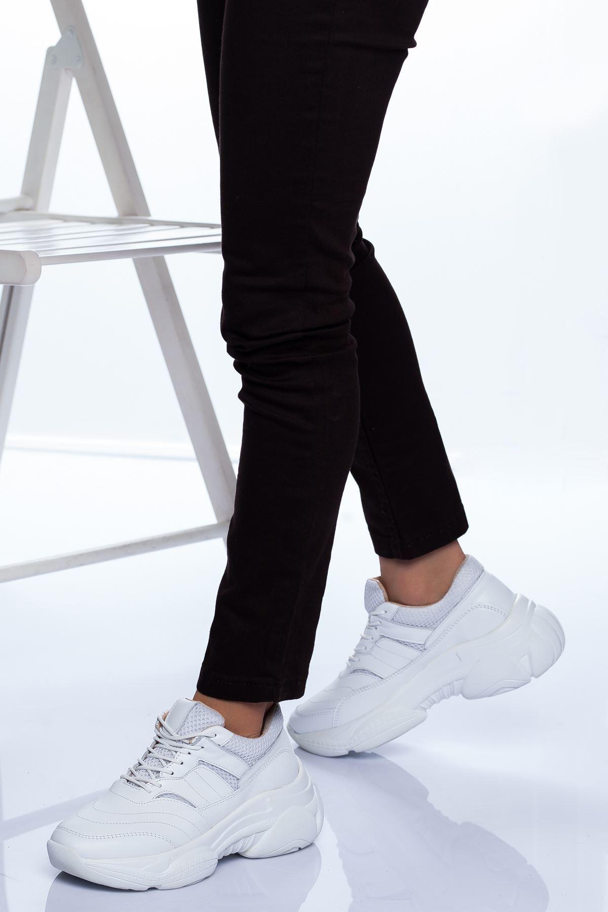 Reyna Spor Ayakkabı BEYAZ