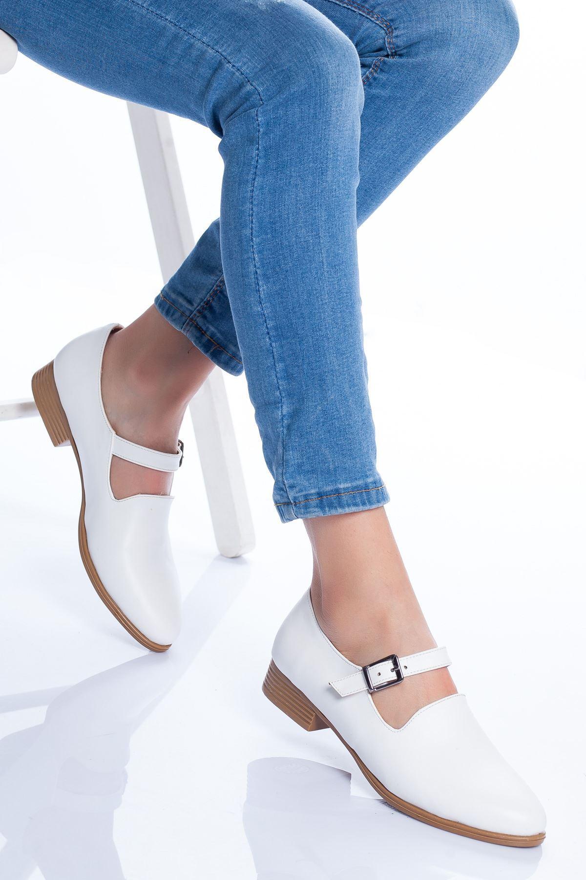 Jaden Babet Ayakkabı BEYAZ