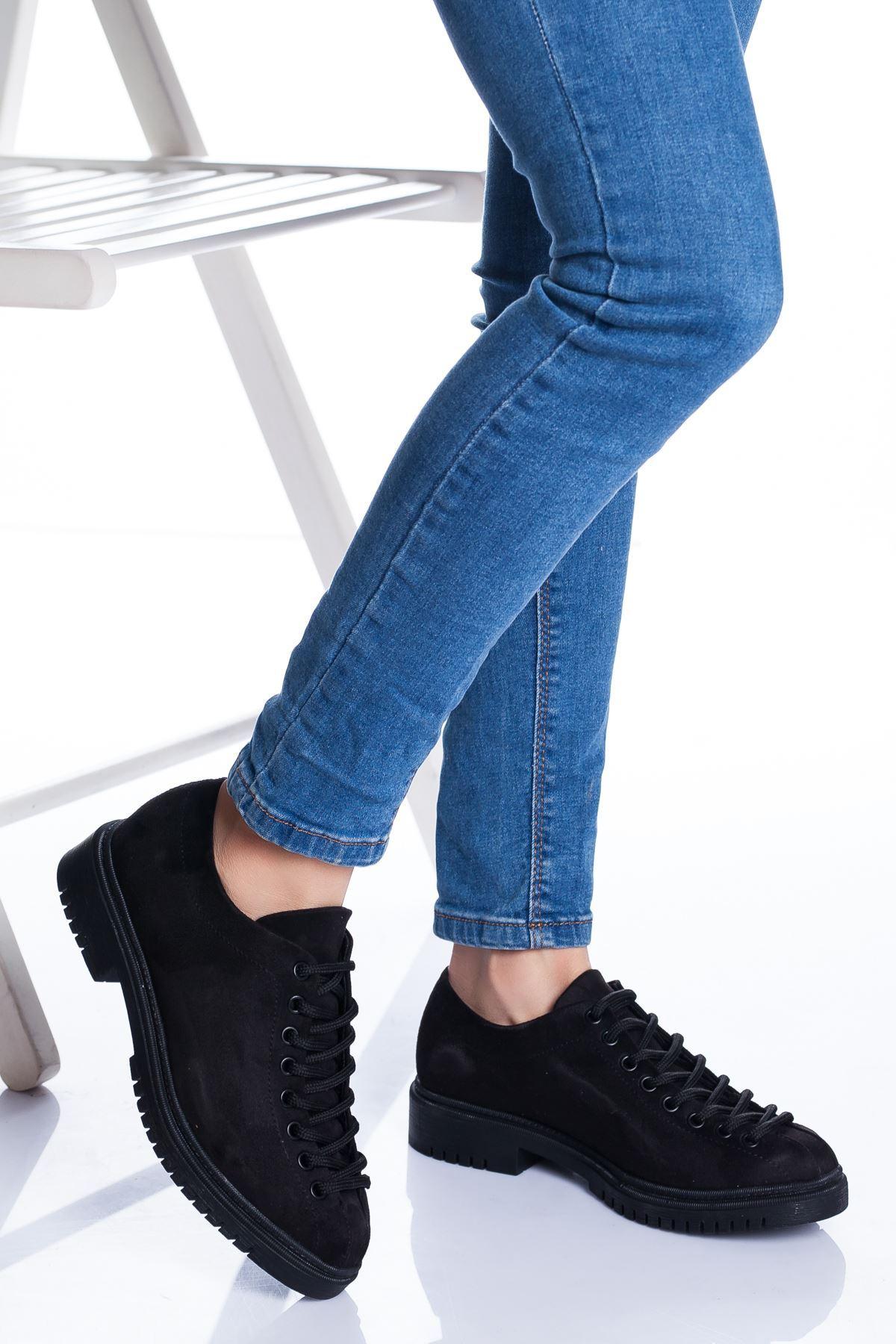 Tamara Ayakkabı SİYAH SÜET