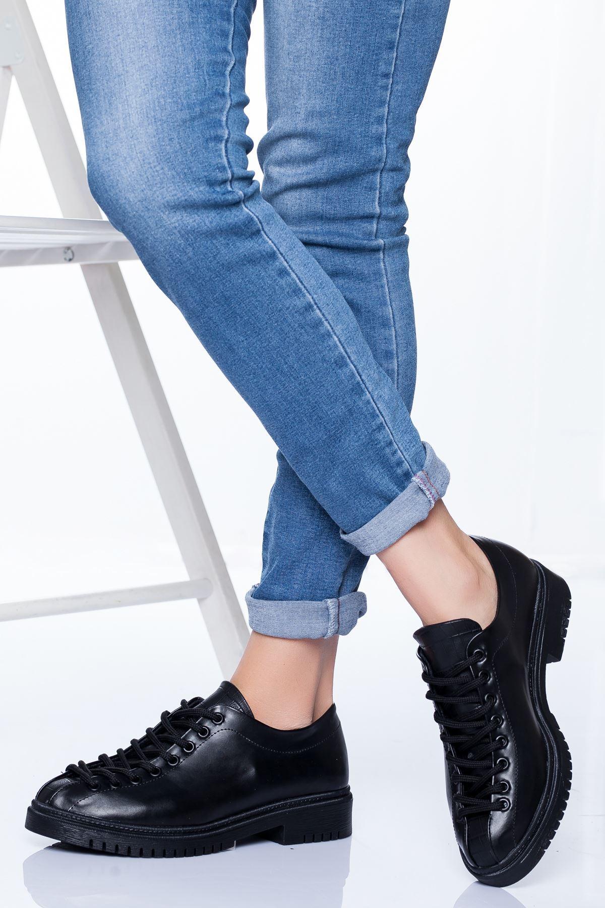 Tamara Ayakkabı SİYAH CİLT