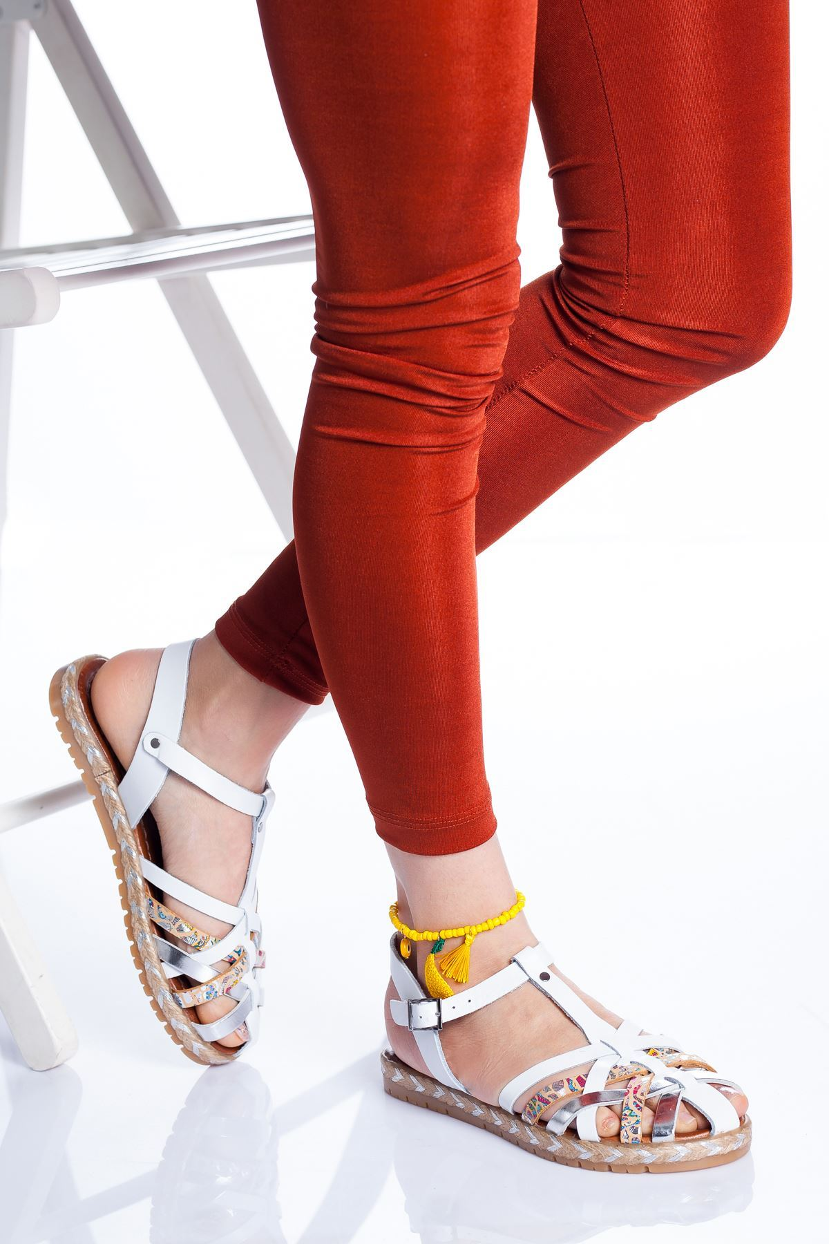 Holle Deri Sandalet MIX3