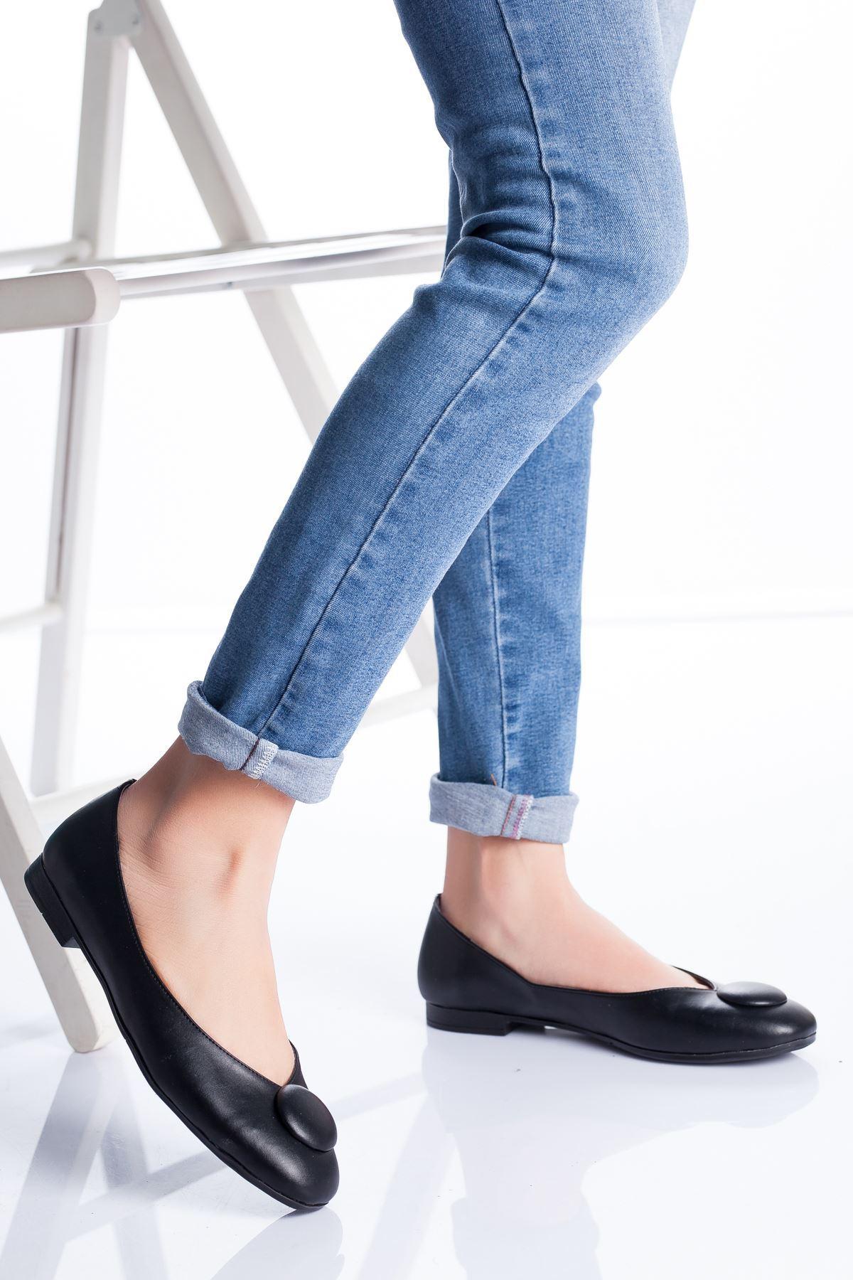 Miya Babet Ayakkabı SIYAH