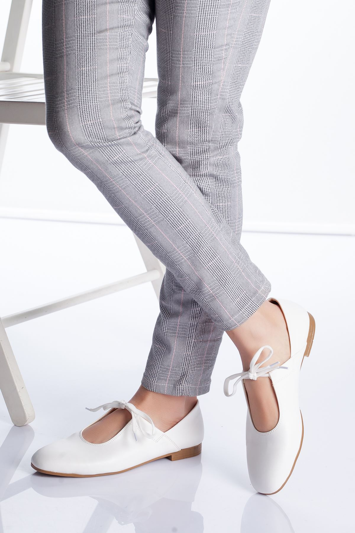 Loya Babet Ayakkabı BEYAZ