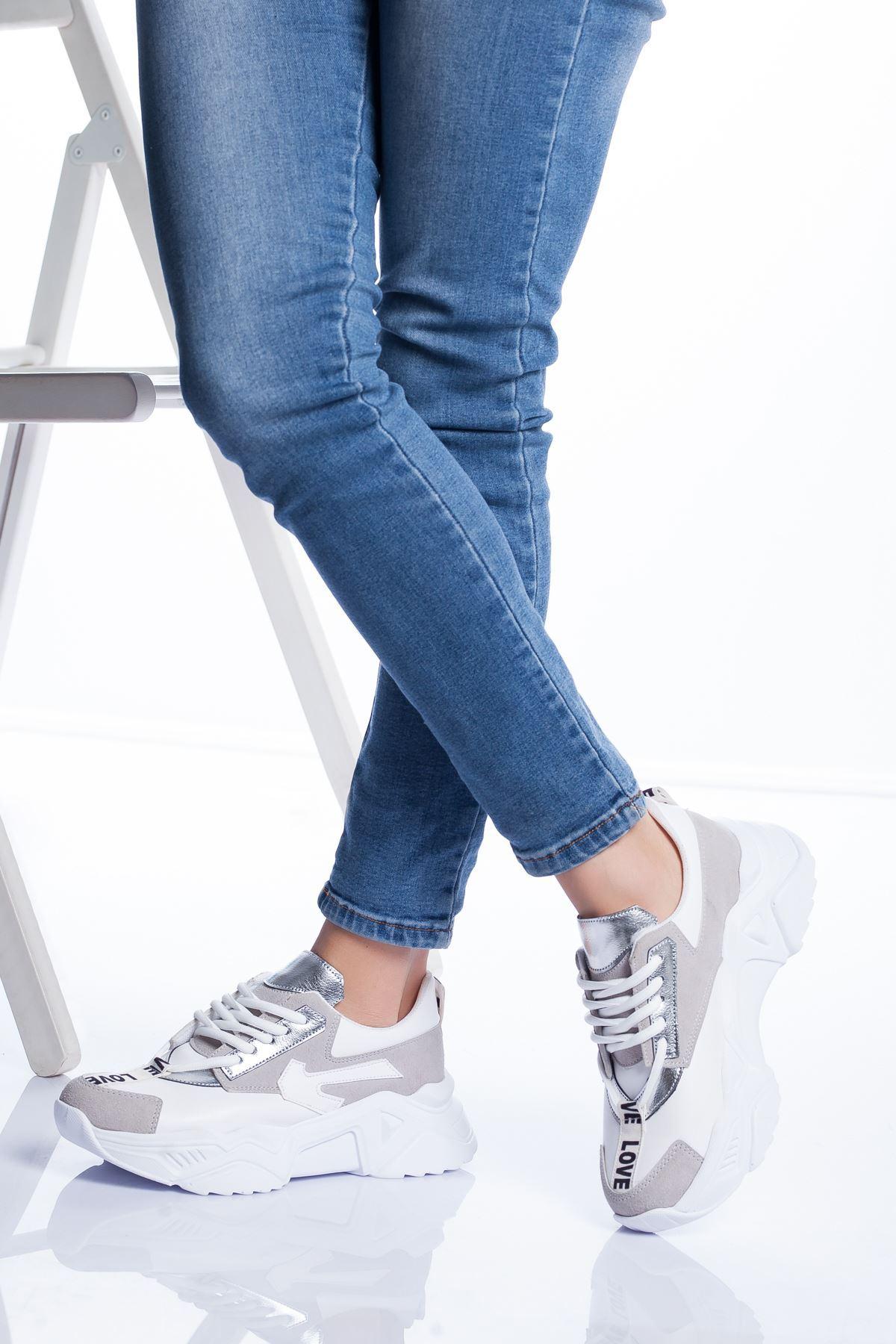 Marvin Spor Ayakkabı BEYAZ