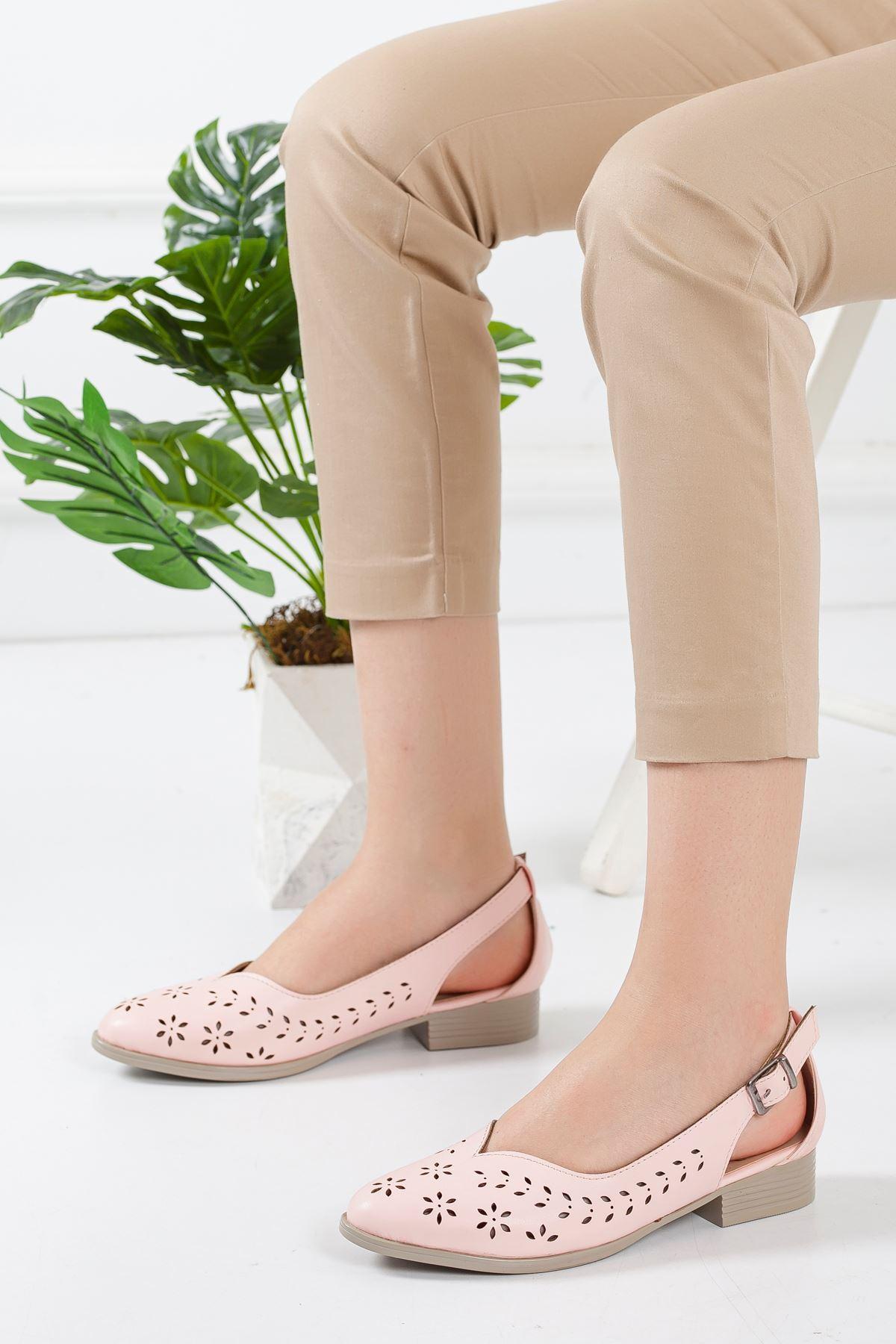 Welsa Babet Ayakkabı PUDRA