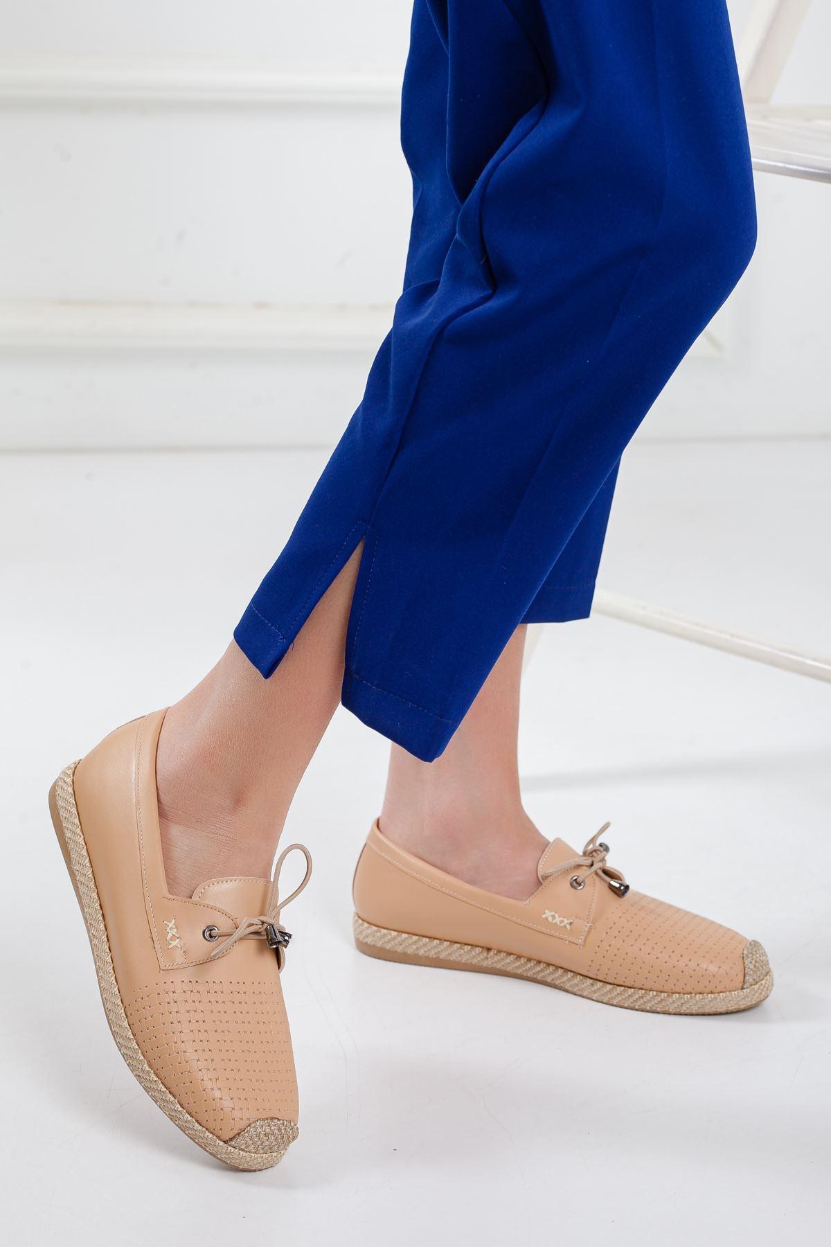 Nesli Babet Ortapedik Ayakkabı NUDE