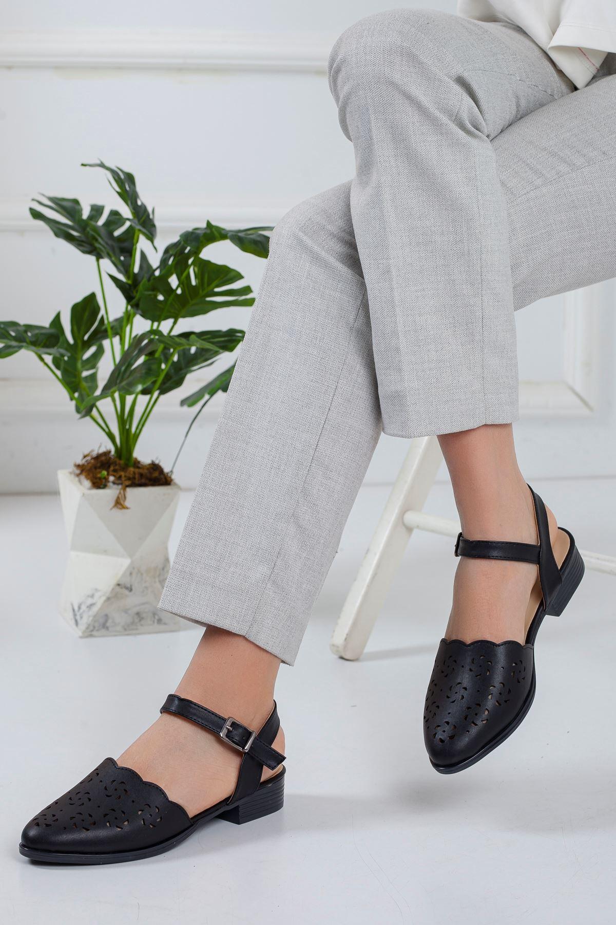 Linsi Babet Ayakkabı SIYAH