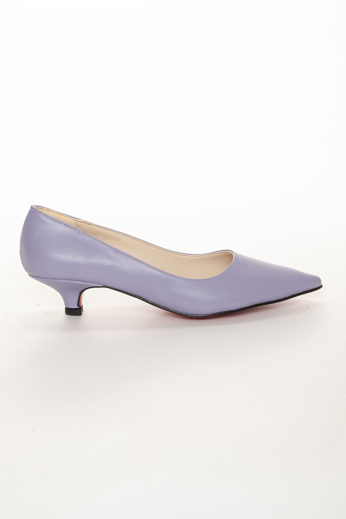 Odella Topuklu Ayakkabı LİLA
