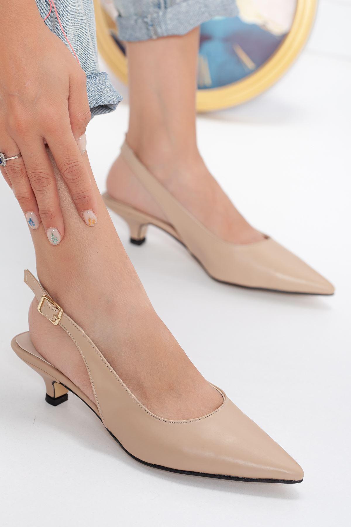 Mira Topuklu Ayakkabı NUDE